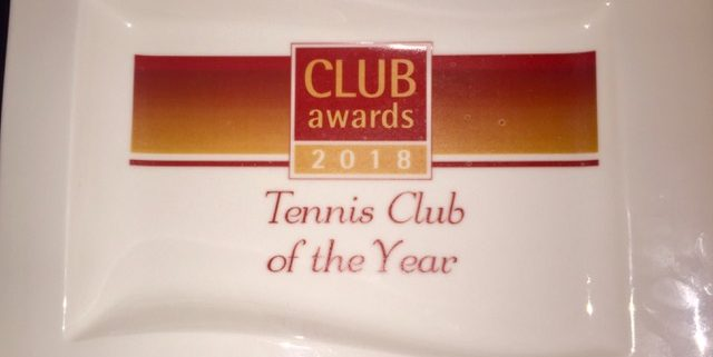 Tennis club of the year