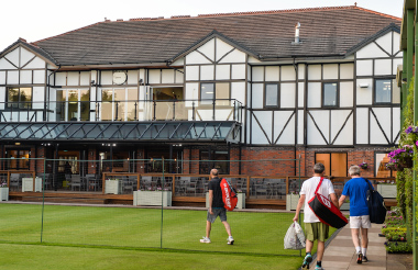 clubhouse external tennis court
