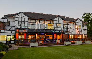 clubhouse outside dusk